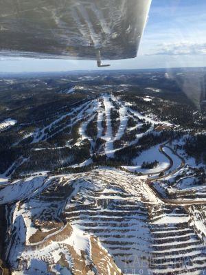 Terry Peak in Winter
